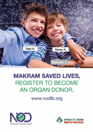 Makram saved lives. Register to become an organ donor.