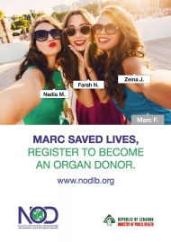 Marc saved lives. Register to become an organ donor.